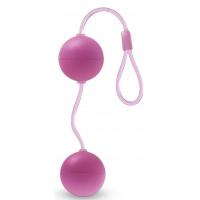 Розовые вагинальные шарики Bonne Beads