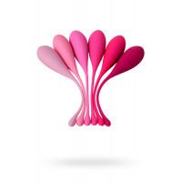 Набор из 6 розовых вагинальных шариков Eromantica K-ROSE