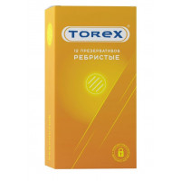 Текстурированные презервативы Torex  Ребристые  - 12 шт.