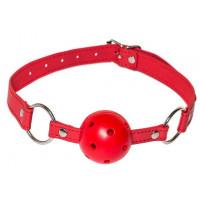 Красный кляп-шарик Firecracker