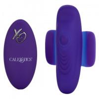 Фиолетовый стимулятор в трусики Lock-N-Play Remote Pulsating Panty Teaser
