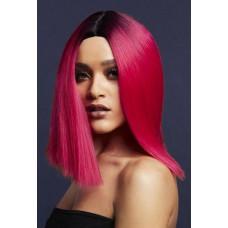 Бордовый парик  Кайли