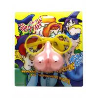 Пластиковые очки с бюстом вместо носа