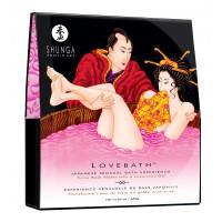 Соль для ванны Lovebath Dragon Fruit, превращающая воду в гель - 650 гр.