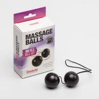 Черные вагинальные шарики Sitabella