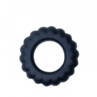 Эреционное кольцо с крупными ребрышками Titan