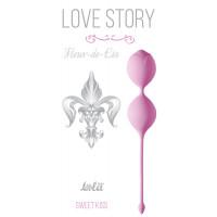 Розовые вагинальные шарики Fleur-de-lisa